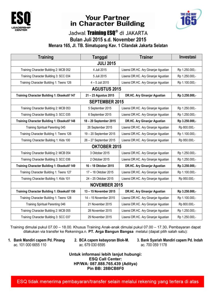 Jadwal-Training-ESQ-Publik-Jakarta-2015-Training-SDM-Training-Motivasi-Training-Pembangunan-Karakter-Ary-Ginanjar