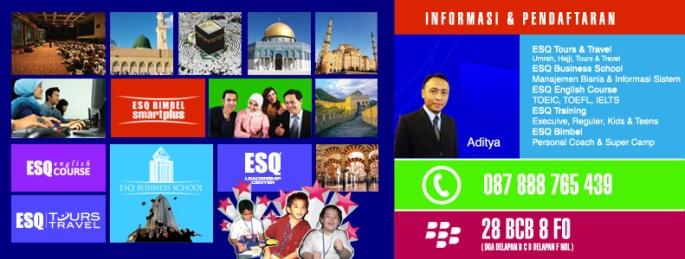 Kursus Bahasa Inggris - Pendaftaran-Training-ESQ-Umrah-Haji-Bimbel-English-Course