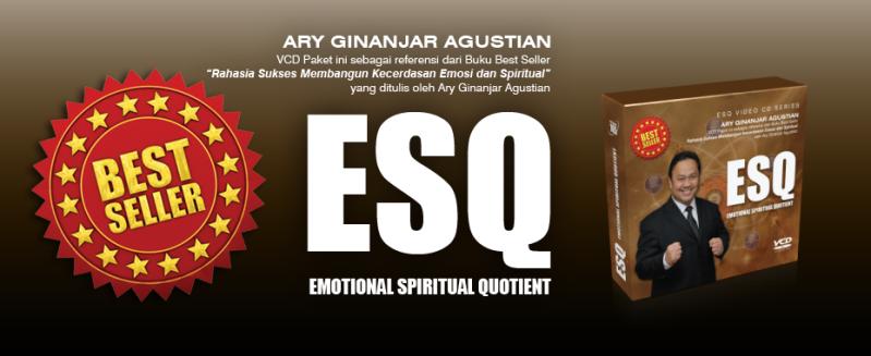 VCD ESQ Ary Ginanjar Rahasia Sukses Membangun Kecerdasan Emosi dan Spiritual