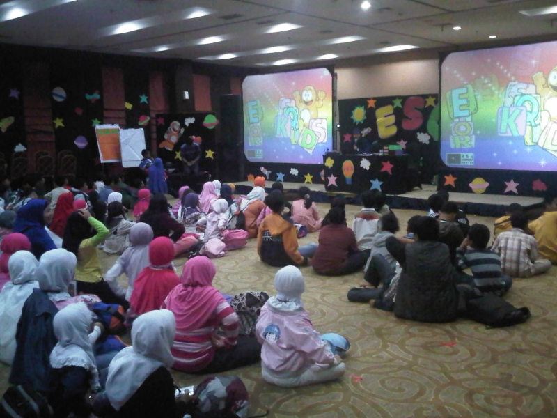 Suasana Training ESQ for Kids
