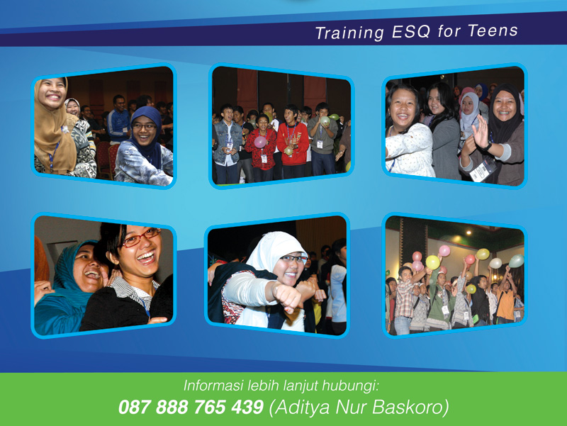 Training ESQ Teens-aMotivasi