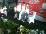 Foto Aditya Nur Baskoro - Sepatu Dahlan Iskan, Berry Natalegawa, Ary Ginanjar