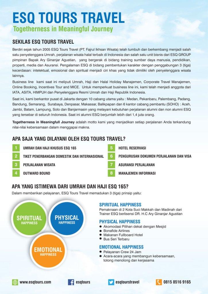 Umroh ESQ - Travel Umroh - Katalog Umroh dan Haji 2