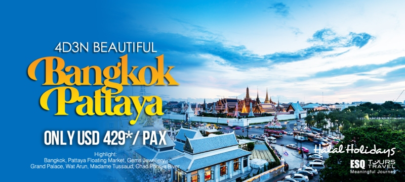 Biro Travel Bangkok, Travel ke Pattaya. Tour ke Thailand
