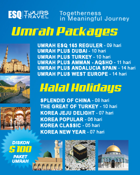 Travel Umroh ESQ, Umroh ESQ, Travel ESQ, Tour Travel