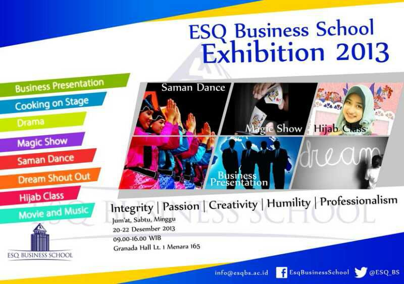 ESQ Business School Exhibition 2013
