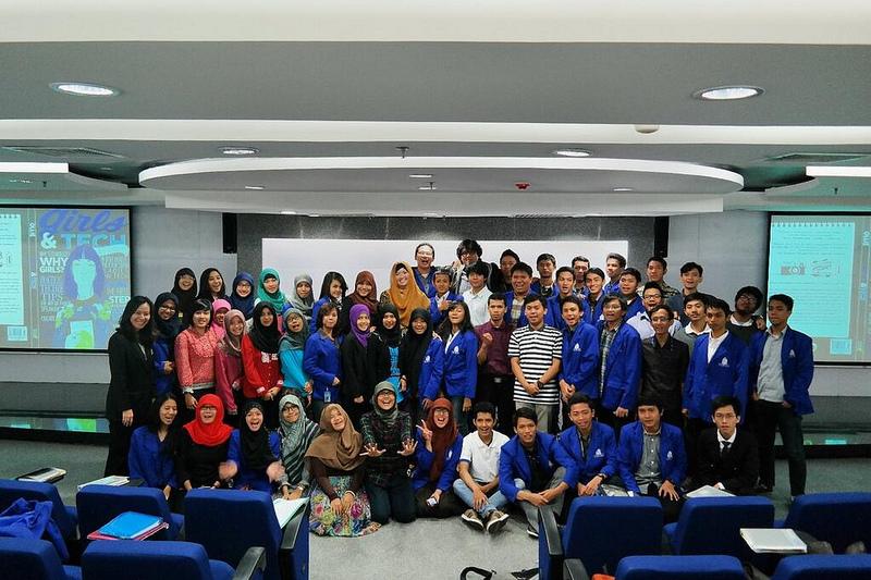 mahasiswi dan siswa esq business school