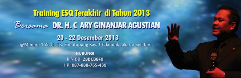Training-ESQ-Eksekutif-terakhir-2013-Ary-Ginanjar-Agustian