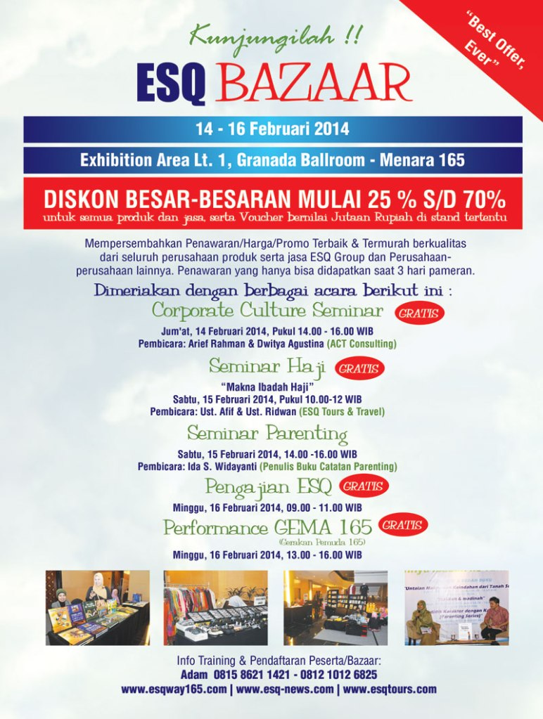 ESQ Group Bazaar Februari-2014
