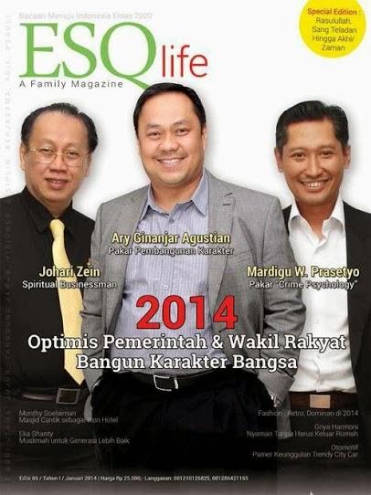 Majalah esq life januari 2014