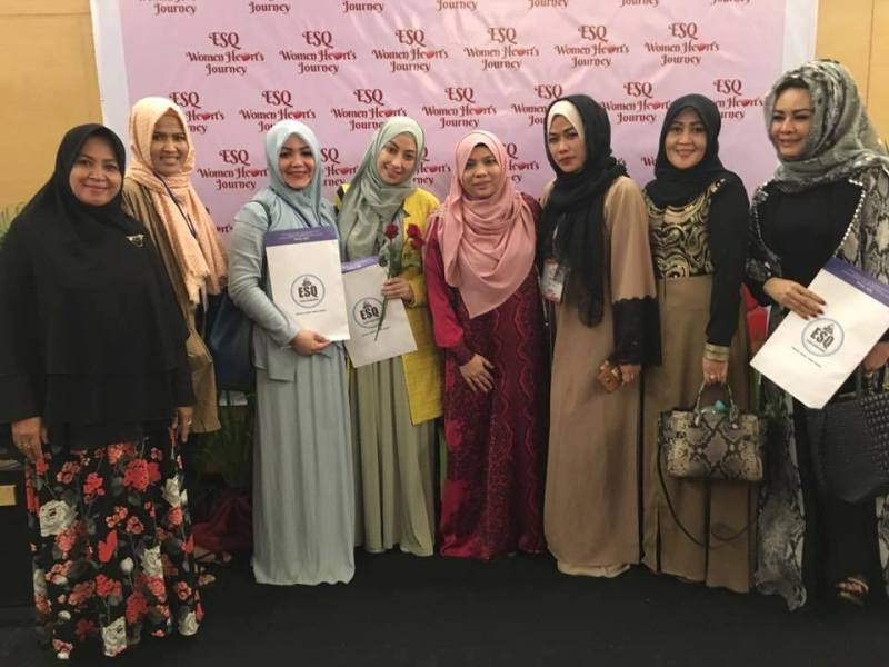 Training ESQ Women Heart Journey, Menara 165, Pelatihan ESQ Wanita